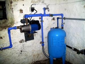 Wasserpumpenanlage für Nutzwasser